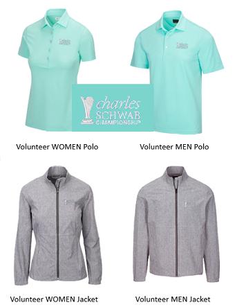 Charles Schwab Cup Championship 2021 Volunteer Uniform